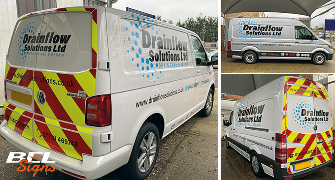 Drainflow Fleet Graphics