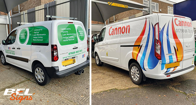Van Graphics for Horsham Businesses
