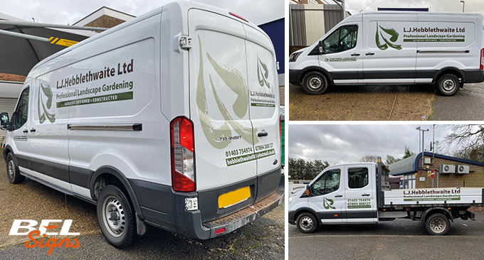 Ford Transit and Tipper graphics
