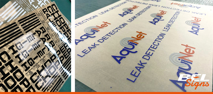 Dry Transfers | Bespoke | Services | BEL Signs