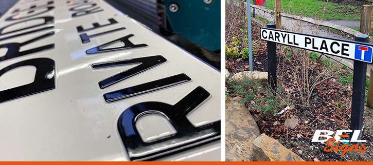 Street Name Plates from BEL Signs