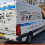 VW Crafter for Horsham Mobile Barber