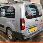 Berlingo Van Spot On Oven Cleaning