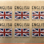 English Acoustics Dry Transfer with Flag