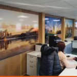 Large Format Prints for ExtraSpace offices