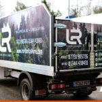 Van signage for LR Arboriculture