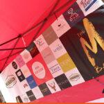 Printed banner for stall background | Love Horsham
