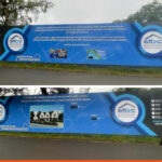 Printed hoarding panels for Surrey and London Basement Company | Large Format Print