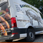 Bangers Galore Van Wrap | BEL Signs