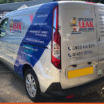 Van Signwriting for Specialist Leak Detection