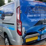 Ashington Autos Van Wrap | BEL Signs