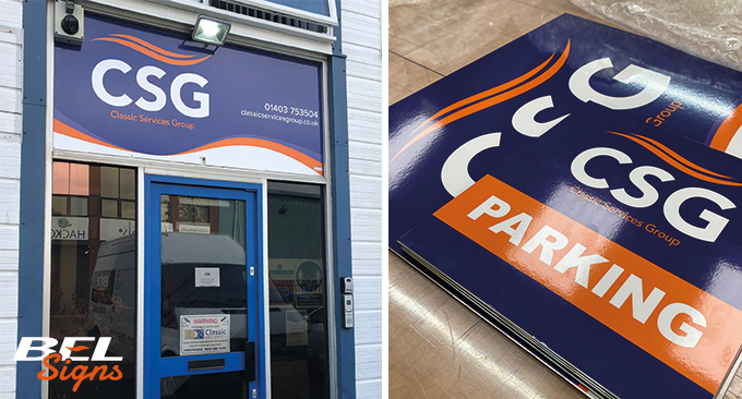 Rebranding, signage update for the Classic Services Group Ltd